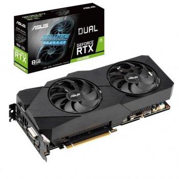 Відеокарта ASUS GeForce RTX2060 SUPER 8192Mb DUAL EVO (DUAL-RTX2060S-8G-EVO)