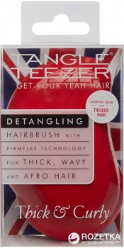 Расческа Tangle Teezer Original Thick & Curly Salsa Red (5060173372347)
