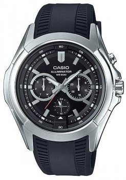 Наручний чоловічий годинник Casio MTP-E204-1AVDF