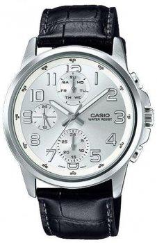 Наручний чоловічий годинник Casio MTP-E307L-7ADF