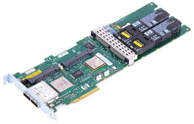 RAID контролер HP RAID Controller SmartArray P800 16-CH 512MB SAS PCI-E - new battery (381513-B21) Refurbished