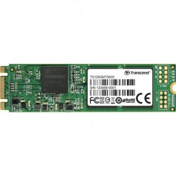 Накопичувач SSD M. 2 128GB Transcend (TS128GMTS800S)