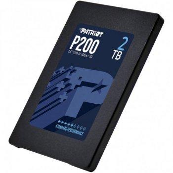 "Накопичувач SSD 2.5"" 2TB SATA Patriot P200 (P200S2TB25)"