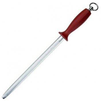 Мусат кухонный Victorinox Butcher's овальный 30 см Бордовый (7.8623)