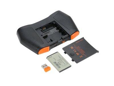 Беспроводная клавиатура VIBOTON i8 USB 2.0 2.4 ГГц Черный (1002-676-01)