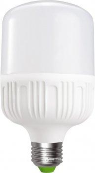 Светодиодная лампа Euroelectric LED Plastic 30W E27 6500K (LED-HP-30276(P))