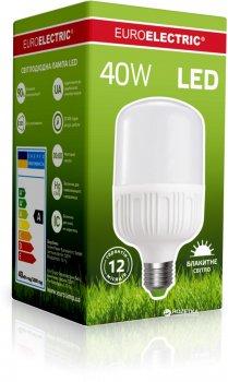 Светодиодная лампа Euroelectric LED Plastic 40W E27 6500K (LED-HP-40276(P))