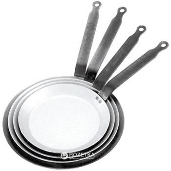 Сковорода для блинов De Buyer Carbone Plus 24 см (5120.24)