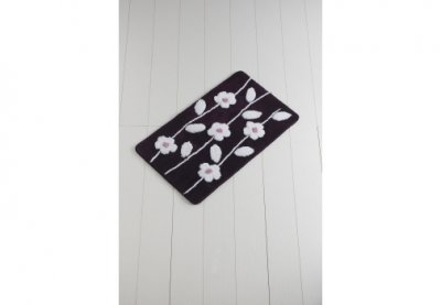 Килимок для ванної Chilai Home Talia Murdum 60*100 Фіолетовий (110069153)