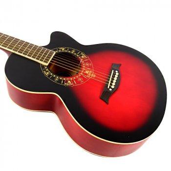 Гитара акустическая EQUITES EQ600C RDS 38''
