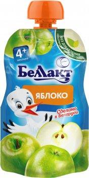 Упаковка дитячого пюре Беллакт Яблуко з 4 місяців 12 шт х 90 г (4814716002687)