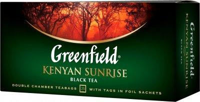 Чай пакетированный Greenfield Kenyan Sunrise 2 г х 25 шт (4823096801209)
