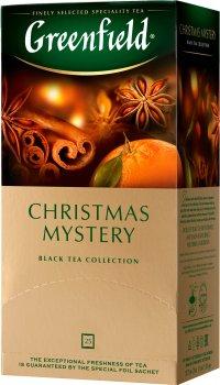 Чай пакетированный Greenfield Christmas Mystery 1.5 г х 25 шт (4823096802480)