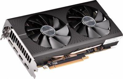 Sapphire PCI-Ex Radeon RX 580 Pulse OC Lite 8GB GDDR5 (256bit) (1350/8000) (2 x HDMI, 2 x DisplayPort) (11265-67-20G)