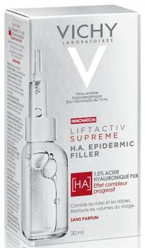 Антивозрастная сыворотка с гиалуроновой кислотой Vichy Liftactiv Supreme H.A. Epidermic Filler для сокращения морщин и восстановления упругости кожи 30 мл (3337875719209)