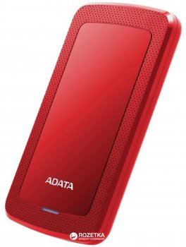 Жорсткий диск ADATA DashDrive HV300 2TB AHV300-2TU31-CRD 2.5 USB 3.1 External Slim Red