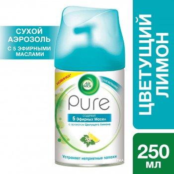 Сменный аэрозольный баллон к Air Wick Pure Цветущий Лимон 250 мл (5900627073959)