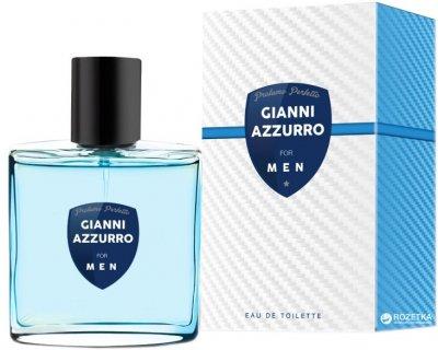 Туалетная вода для мужчин Vittorio Bellucci Fragrance Gianni Azzurro 100 мл (5901468907700)