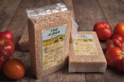 Рис La Gallinella Fior di Risso круглий коричневий 1 кг