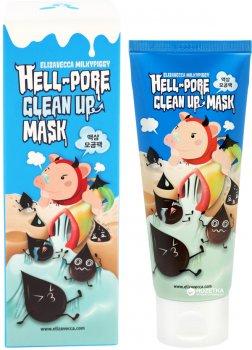 Маска-пленка для очищения пор Elizavecca Hell-Pore Clean Up Mask 100 мл (8809339905435)