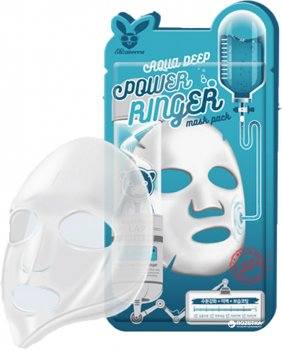 Маска увлажняющая для сухой кожи Elizavecca Aqua Deep Power Ringer Mask 23 мл (8809520941884)