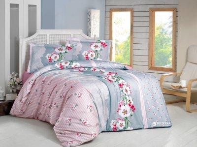 Комплект постельного белья Gokay Ранфорс Jasmine 160x220x2 (010079180)