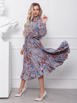 Плаття ISSA PLUS 12434 Різнобарвне
