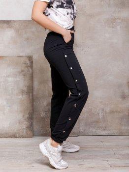 Спортивні штани ISSA PLUS SA-109 Чорні