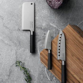 Кухонный нож BergHOFF Essentials сантоку 180 мм Black (1301079)