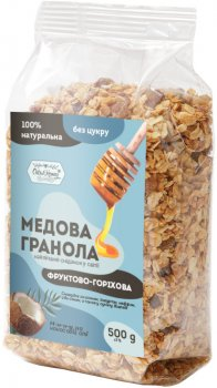 Гранола Oats&Honey Фруктово-ореховая 500 г (4820013333157)