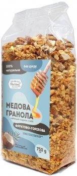 Гранола Oats&Honey Фруктово-ореховая, пачка 750 г (4820013333836)