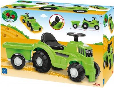 Трактор с прицепом Ecoiffier Гарден 81.5 см (359) (3280250003595)