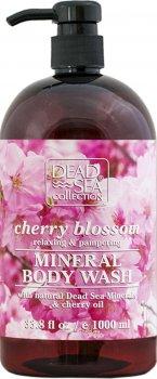 Гель для душа Dead Sea Collection с ароматом вишневых цветов 1000 мл (7290102259571)