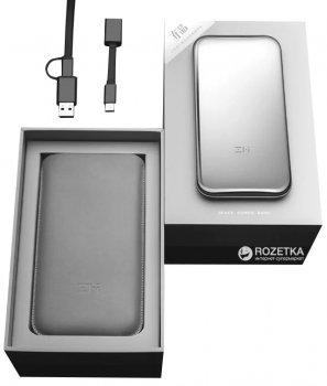 УМБ Xiaomi ZMi Space QPB60 6000 mAh Silver (Ф01151)