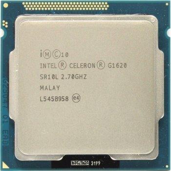 Б/У, Процесор, Intel Celeron g1620, 2 ядра, 2.7 GHz
