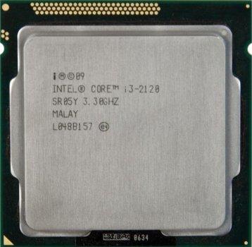 Б/У, Процесор, Intel Core i3-2120 3 МБ, 2x3,30 GHz, 5GTs, 3MB, s1155