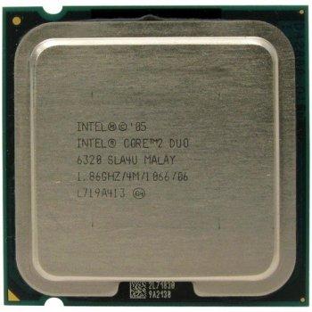 Б/У, Процесор, Intel Core 2 Duo E6420, 2 ядра, 2.13 GHz