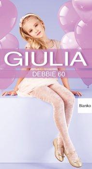 Колготки Giulia Debbie (1) 60 Den 140-146 см Bianco (4823102964621)