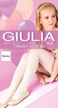 Колготки Giulia Traisy Kids (4) 80 Den 140-146 см Bianco (4823102967462)