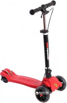 Самокат Ferrari Twist Scooter With Hand Brake Red трехколесный (FXK50-1) (6923744099977)/(6923744067754)