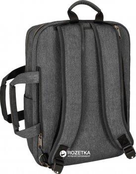 Сумка-транформер для ноутбука Optima 0.84 кг 40x29x14 см 16 л Grey (O97517-02)