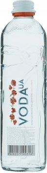 Упаковка воды питьевой слабогазированной VodaUA Карпатская высокогорная родниковая 0.4 л х 24 бутылки (4820227100316)