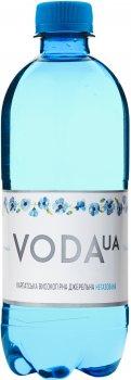 Упаковка воды питьевой негазированной VodaUA Карпатская высокогорная родниковая 0.5 л х 12 бутылок (4820227100255)