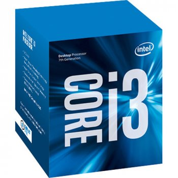 Процесор Intel Core i3 (LGA1151) i3-7100, Box, 2x3,9 GHz, HD Graphic 630 (1100 MHz), L3 3Mb, Kaby Lake, 14 nm, TDP 51W