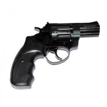 """Револьвер Флобера Stalker S 2.5"""" 4 мм Black (барабан силумін)"""