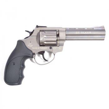 "Револьвер Флобера Stalker 4.5"" Titanium Black 4 мм"