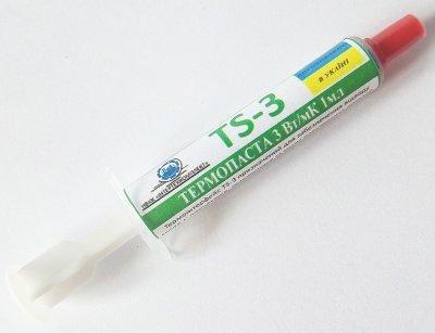 Термопаста ИнтерТехКомплект TS-3 (3,3г-1мл)