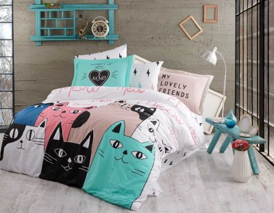 Комплект постельного белья Pretty 7543 180х220 (2000000221236)
