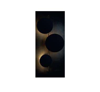 Настінний світильник Nowodvorski 9034 WHEEL BLACK