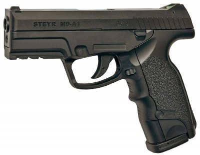 Пневматичний пістолет ASG (Steyr M9-A1). Корпус - пластик (16088)